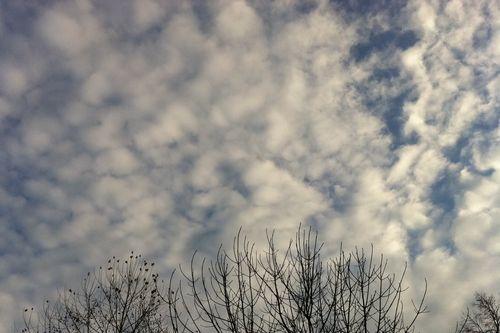 New year's eve sky