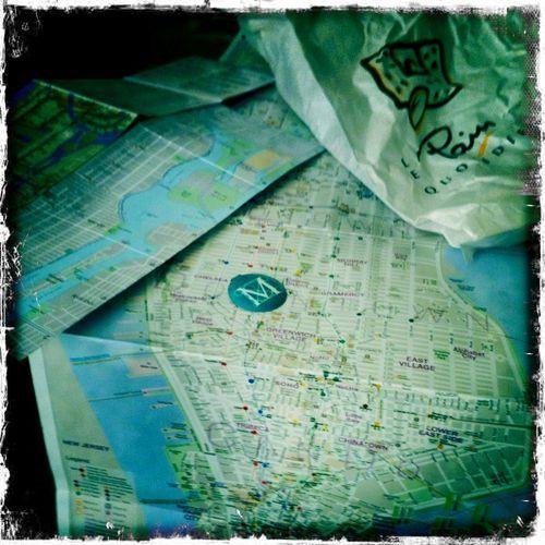 Met + map