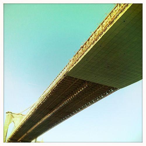 Look up! it's a bridge!